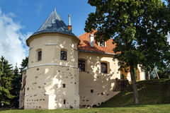 Renässansstilslott i NorviliÅ ¡ kÄ-s på litauiskt-Belarusi Royaltyfri Foto