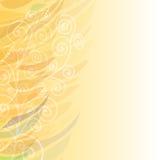 Ren abstrakt beige lämnad bakgrundsmodell Royaltyfri Bild