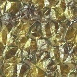 Ren guld- folie Royaltyfri Bild