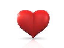 ren hjärta Arkivfoto