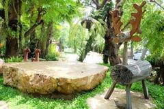 Ren i trädgården Royaltyfri Fotografi