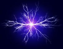 Ren makt och elektricitet royaltyfri illustrationer