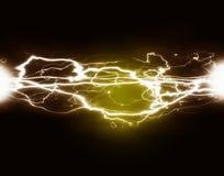 Ren makt och elektricitet Arkivfoton