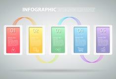 Ren mall för design kan användas för workflowen, orienteringen, diagram Royaltyfria Bilder
