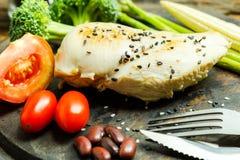 Ren mat Ren bakgrund för mat för matfrukostrengöring Rengöring f Royaltyfri Fotografi