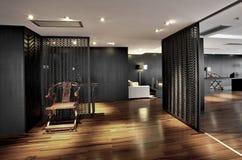 Ren och elegant kontorsmiljö Royaltyfri Foto