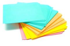 ren paper stapel Arkivfoto