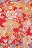 Ren silk textil Arkivfoto