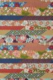 Ren silk textil arkivbilder