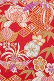 Ren silk textil Royaltyfri Foto