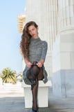 Ren svart strumpor Royaltyfri Fotografi