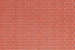 Ren vägg för röd tegelsten med inget arkivbilder