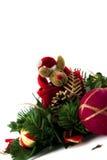 Ren-Weihnachten mit rotem Hut 2. Lizenzfreie Stockfotos