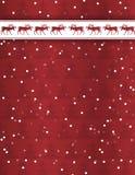 Ren-Weihnachtshintergrund Lizenzfreie Stockfotografie