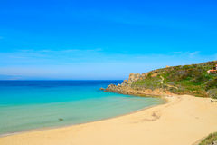 Rena Bianca beach on a clear spring day Royalty Free Stock Images