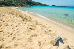 Rena bianca shoreline on a clear day Royalty Free Stock Photography