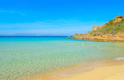Rena Bianca shoreline on a clear day Royalty Free Stock Images