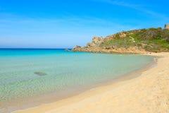 Rena Bianca strand på en klar dag Royaltyfri Bild