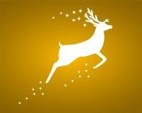 Rena com estrelas Imagem de Stock Royalty Free
