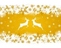 Rena com estrelas Foto de Stock Royalty Free