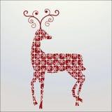 Rena decorativa ilustração royalty free