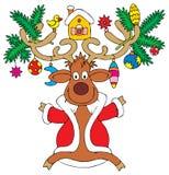 Rena do Natal ilustração royalty free