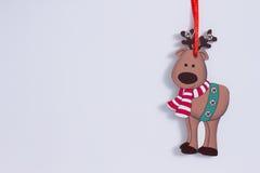 Rena engraçada do Natal ilustração royalty free