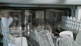 Rena exponeringsglas och koppar i en diskare arkivfilmer