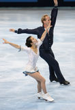 Rena INOUE / John BALDWIN (USA) free skating Royalty Free Stock Images