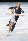 Rena INOUE / John BALDWIN (USA) free skating Stock Photography