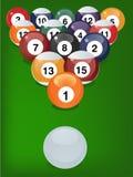 Reúna las bolas de juego Foto de archivo libre de regalías