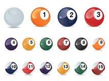 Reúna las bolas de juego Fotografía de archivo