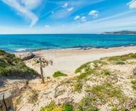 Rena Majore shoreline Stock Image