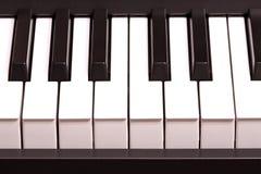 Rena pianotangenter Fotografering för Bildbyråer