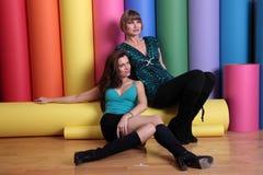 Rena Riffel, Alicia Arden Fotografia Stock Libera da Diritti