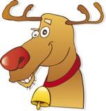 Rena vermelha do nariz Imagens de Stock Royalty Free