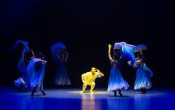 ` Renacimiento-azul de la danza del ` s de onda-Huang Mingliang del mar ningún ` del refugio fotografía de archivo libre de regalías
