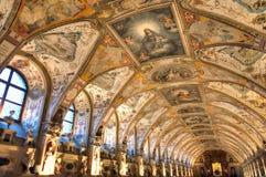 Renaissance antiquarium Stockbilder