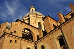 Renaissance architecture, San Lorenzo Mantua Stock Photos