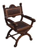 Renaissance armchair Royalty Free Stock Photography