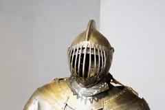 Renaissance armor, high part Royalty Free Stock Photo