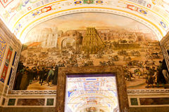 Renaissance Arts at Vatican Museum Royalty Free Stock Photos