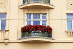 Renaissance balcony Royalty Free Stock Photo