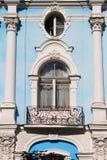 Renaissance balcony in Saint Petersburg Royalty Free Stock Images