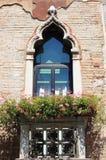 Renaissance balcony in Venice Stock Photography