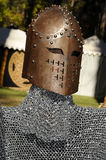 Renaissance Battle Helmet 2 Stock Image
