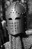 Renaissance Battle Helmet Stock Image