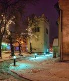 Renaissance Bell Tower, Poprad. Renaissance Bell Tower, St. Egidius Square, Poprad, Slovakia Royalty Free Stock Image