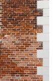 Renaissance brick wall Royalty Free Stock Photography