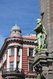 Renaissance building in in St. Petersburg Stock Image